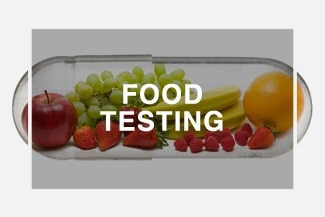 Food Testing Button